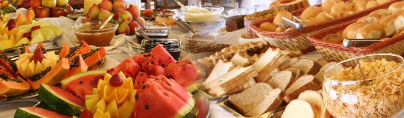 Um delicioso café da manhã para começar bem o dia!